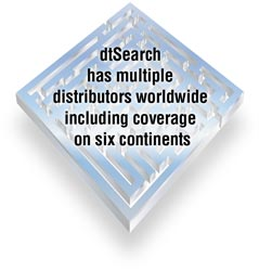 dtSearch has a strong international presence, including sales to over 70 countries.